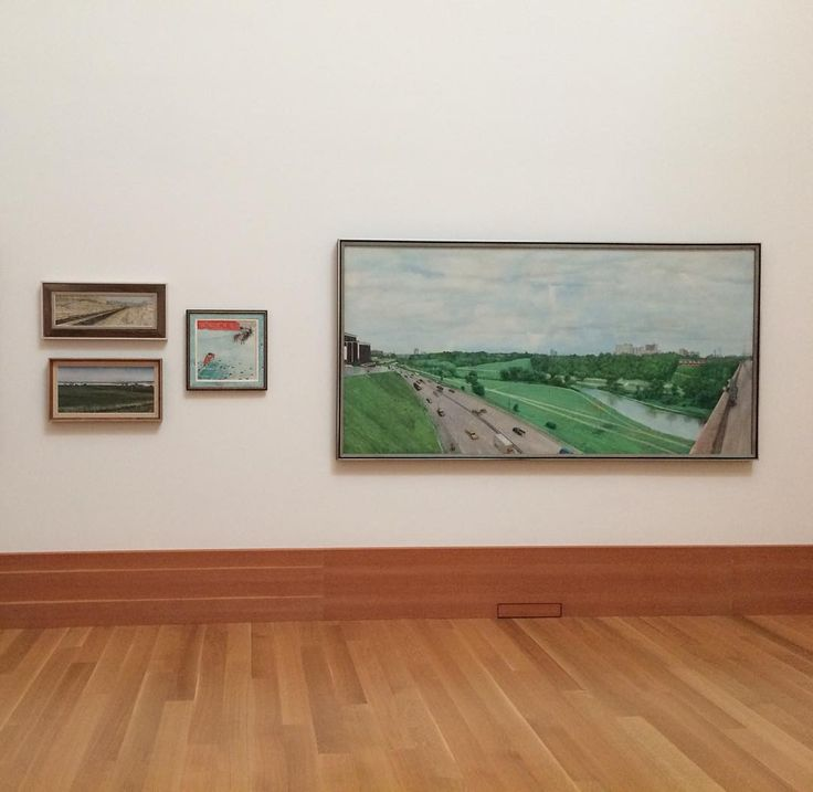 Visiting the remarkable William Kurelek room with the family. Family meet greatness. @agotoronto
