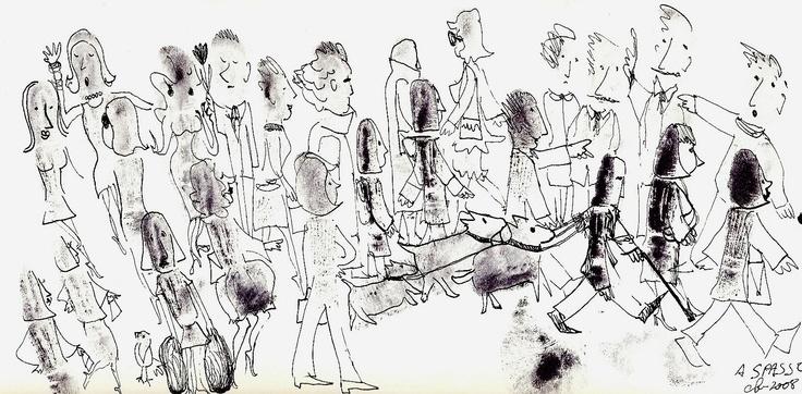 """""""A Spasso"""", di Cristina Berardi, 2008"""