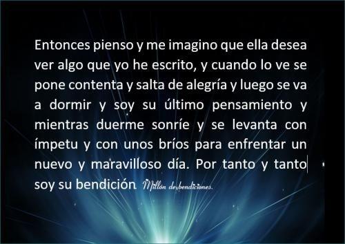 Poema SOY SU BENDICIÓN... ♥, de ஜீEl amor es un vinculo perfecto de uniónஜீ, en Poemas del Alma