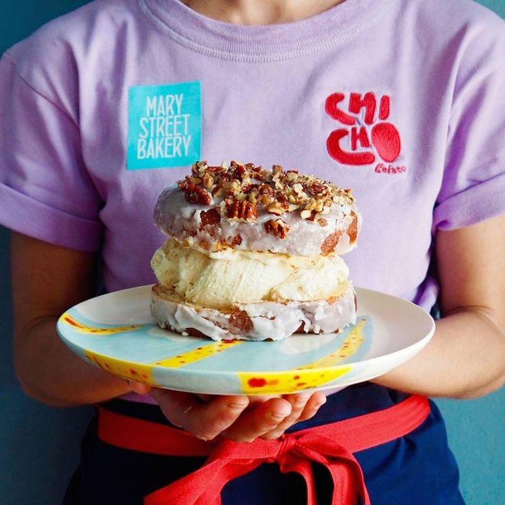 Chicho Gelato in Australië is een ijssalon met het gaafste interieur en de tofste ijscreaties. Donut met koffie-ijs anyone?