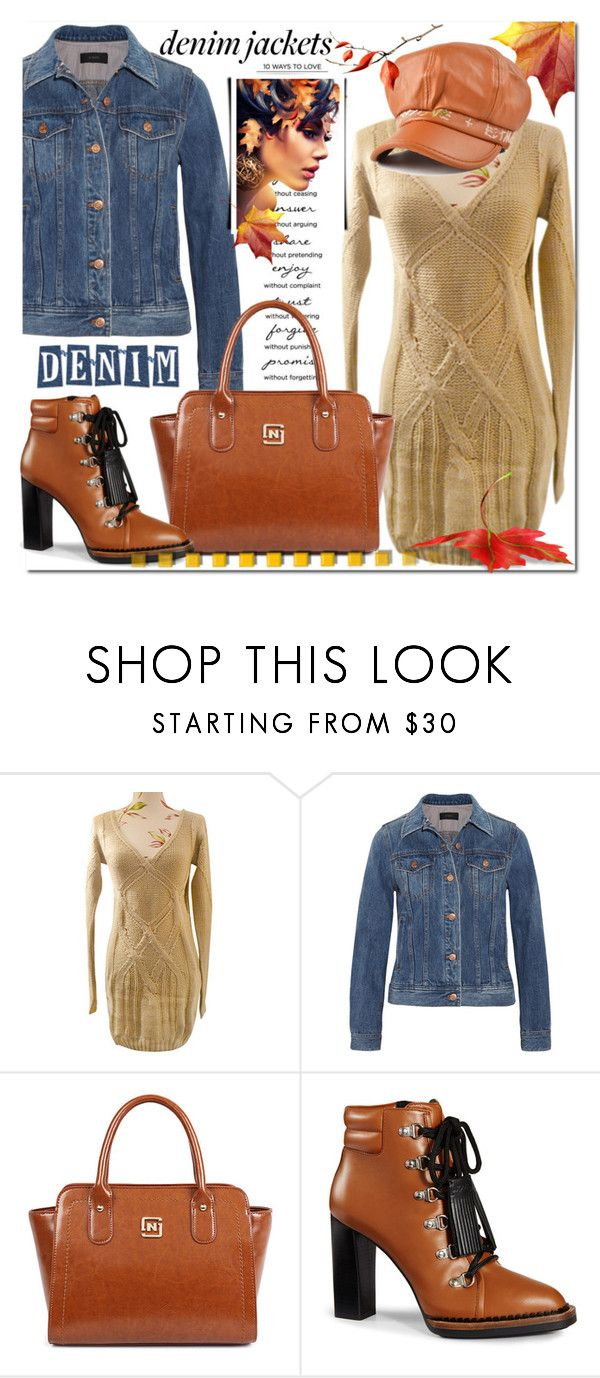 """""""Denim jaket and Fall"""" by jecakns ❤ liked on Polyvore featuring J.Crew, Tod's, StreetStyle, casualoutfit, fallfashion, falltrend and jeanjakets"""