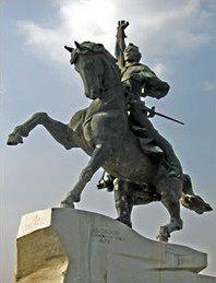Суворов, Александр Васильевич — Конный памятник Суворову в Тирасполе