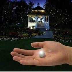 La boule miniature luciole lumineuse
