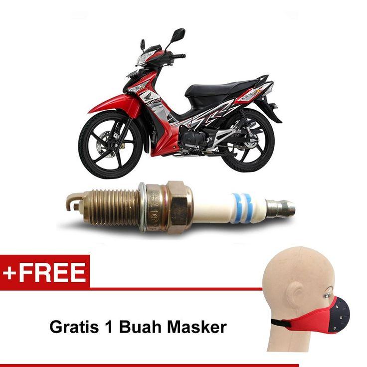 Bosch Busi Sepeda Motor Honda Supra U4AC - 2 Busi - Gratis Masker  Kuat & Tahan Lama, Standard Pabrikan (OE like), Tidak Cepat Kering, Busi Berkualitas ORIGINAL dari BOSCH  http://klikonderdil.com/busi-motor/1221-bosch-busi-sepeda-motor-honda-supra-u4ac-2-busi-gratis-masker.html  #bosch #busi #busimotor #busiterbaik #hondasupra