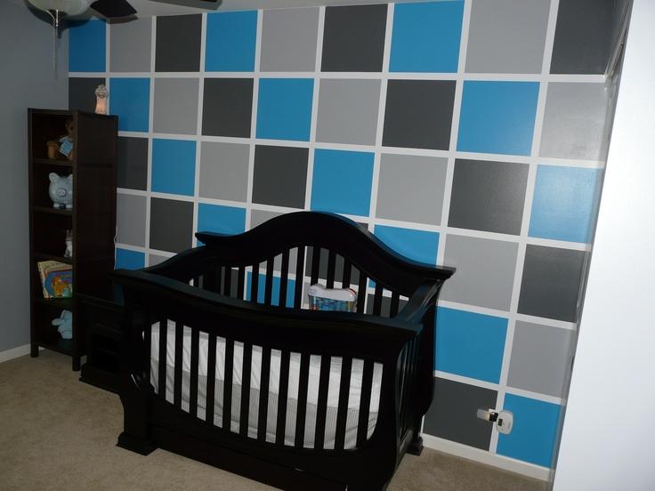 "EYS entry ""Nursery for Nicolas"" created using @FrogTape #interiordesign"