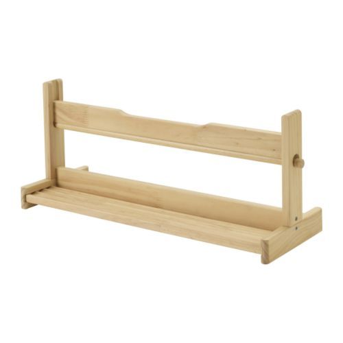 MÅLA お絵かき用収納 IKEA ロール紙やペン、絵の具などを収納できます。平らな面に置いてお使いください エッジ部分で紙を簡単にカットできます