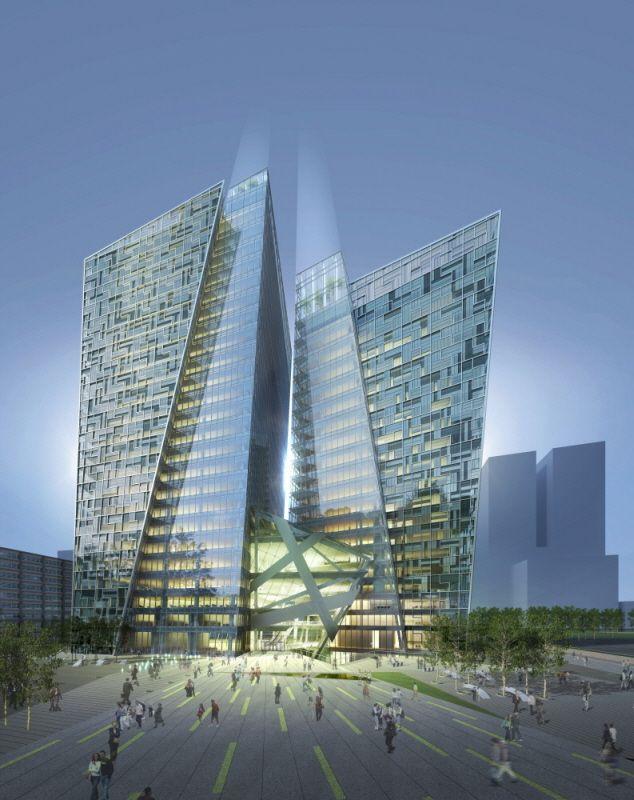 KT Landmark Tower | Studio Daniel Leibeskind + G.Lab*