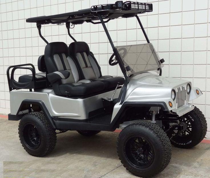 Custom club car golf cart body kit front and rear