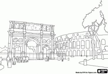 italy coloring pages - photo#20
