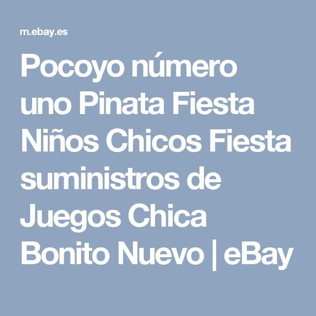 Pocoyo número uno Pinata Fiesta Niños Chicos Fiesta suministros de Juegos Chica Bonito Nuevo   eBay