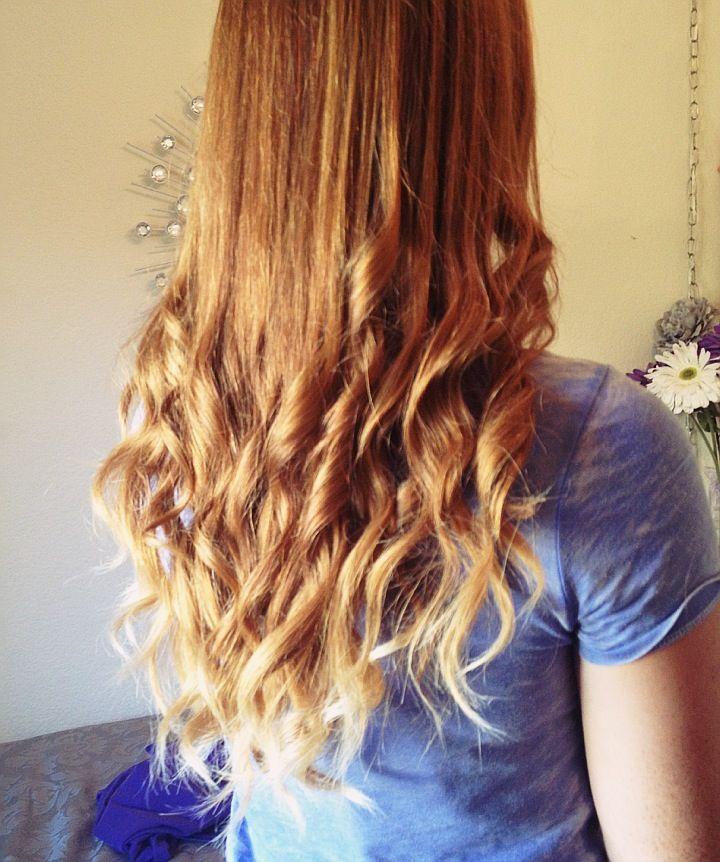 ginger ombre hair pinterest