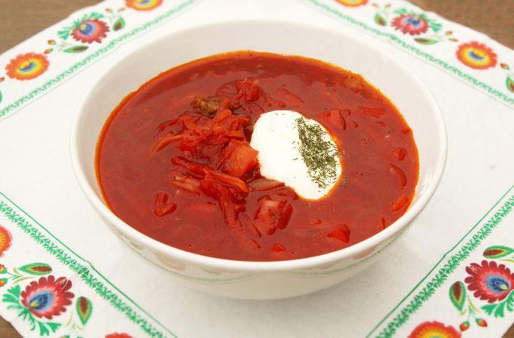 Ruský BORŠČ z červené řepy s hovězím masem // Ochutnejte svět - blog mezinárodní kuchyně