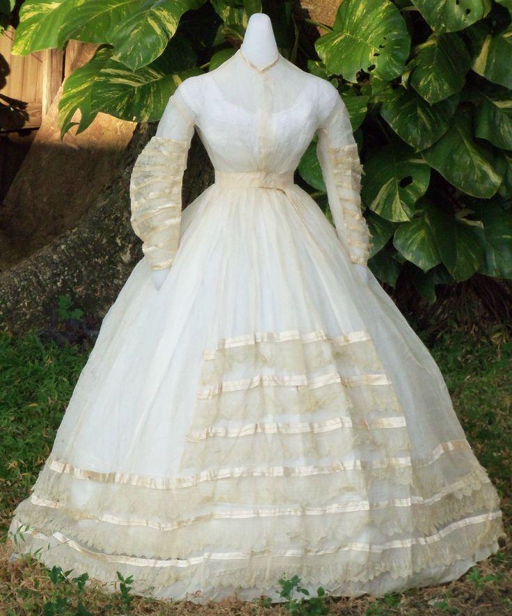 Wedding dresses: civil war wedding dresses