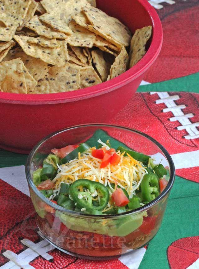 9 Layer Mexican Super Bowl Dip