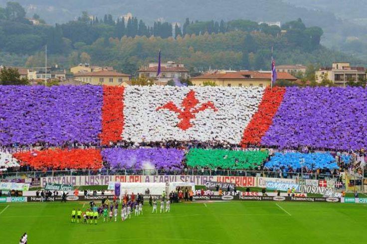 Curva Fiesole 20/10/2013 Fiorentina -Juventus 4-2