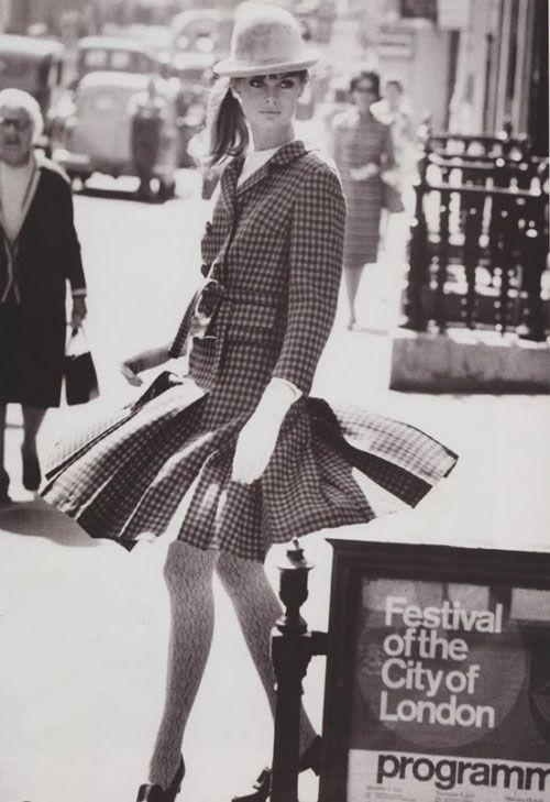 Jean Shrimpton by David Bailey, 1964.