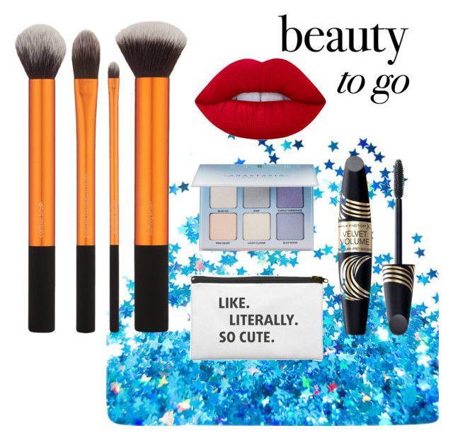 """Beauty to go"" by malin1234 on Polyvore featuring beauty, Max Factor, Lime Crime and Anastasia Beverly Hills"