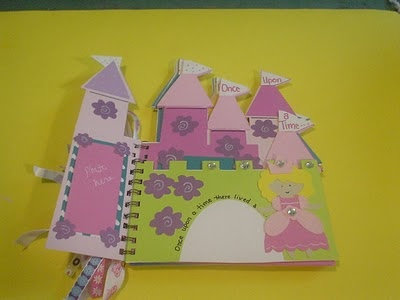 Castle mini album. I like the ideas of it. Try Once Upon a Princess Cartridge.   *