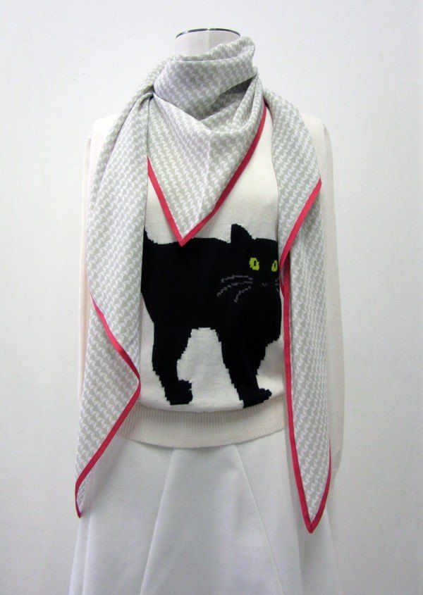 Badminton Scarf www.collection66.com