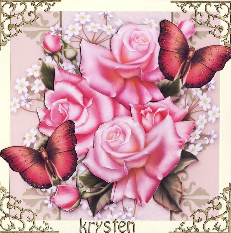 3D 'Krysten' Card