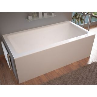 acrylic soaking tub 60 x 30. mountain home stratus 32 x 60 acrylic soaking bathtub with front apron tub 30 e