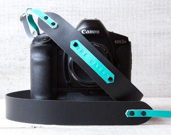 Personalized camera strap leather. Camera strap dslr. by viveo