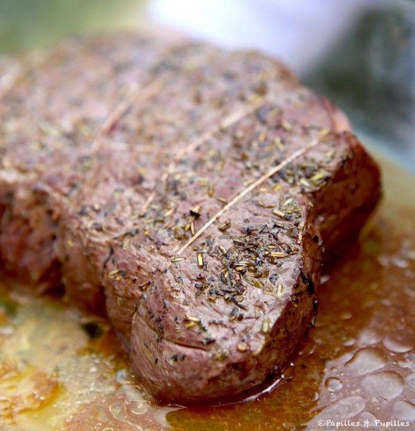 Les 39 meilleures images du tableau cuisine basse temperature sur pinterest recette salee - Cuisiner un roti de boeuf au four ...