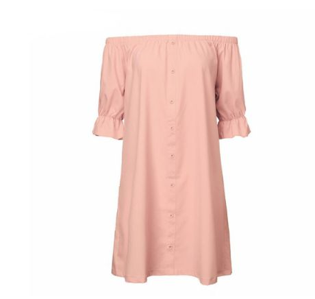 DRESS MINI SLEEVES WITHOUT STRAPLESS