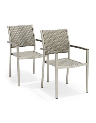 Brands | Patio | Brushed Aluminum Wicker Dining Chair Set Of 2 | Hudsonu0027s  Bay Part 57
