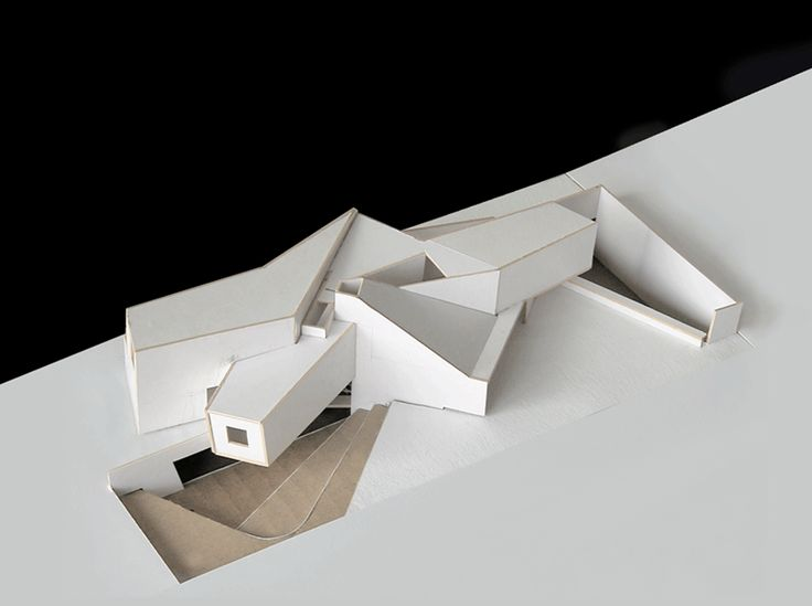 133 best arch models images on pinterest - Small spaces architecture model ...
