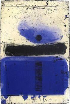 Kjell Nupen - Sommernatt, etching 2010