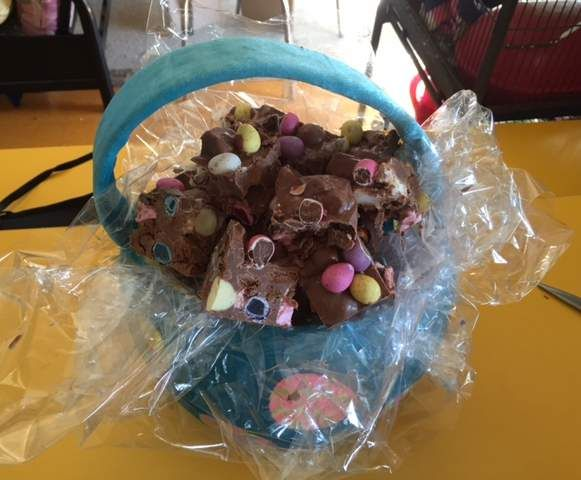 Recipe Hippety Hop Rocky Road (AKA Easter Rocky Road) by Crazy rat lady