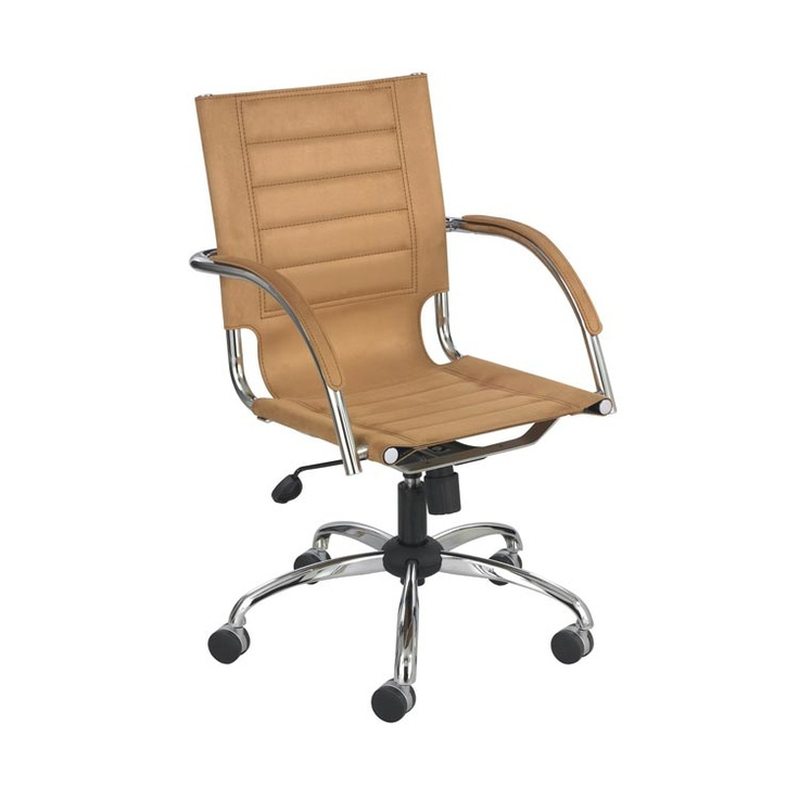 Attractive Mid Back Managers Chair Red Leather By Safco Office Furniture   1 800 460