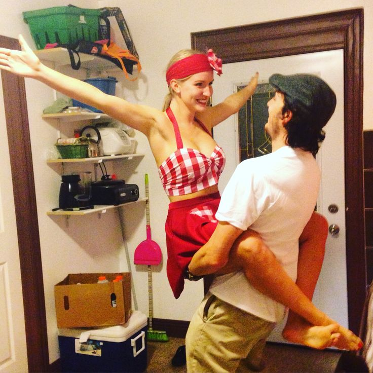 Creative Couple's Halloween Costume DIY The Notebook Noah and Allie