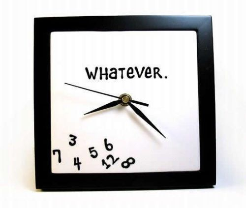 I think this is the perfect clock for me :D
