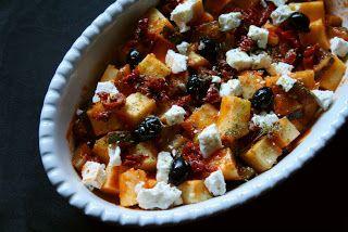 Pizzaiola di polenta - cucinare con gli avanzi!