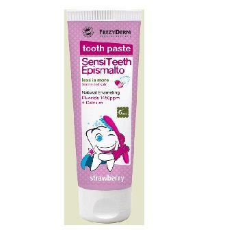 Frezyderm SensiTeeth Epismalto Tooth Paste 1.450ppm Οδοντόκρεμα Που Ενισχύει Το Σμάλτο Των Δοντιών Για Παιδιά Από 6 Ετών 50ml. Μάθετε περισσότερα ΕΔΩ: https://www.pharm24.gr/index.php?main_page=product_info&products_id=4420