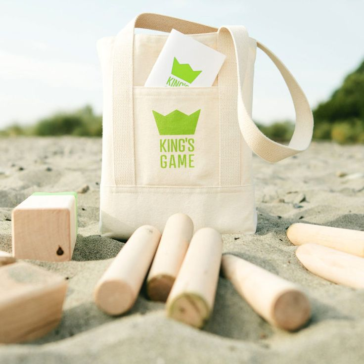 Go ahead and knock stuff over! This fresh take on a Scandinavian outdoor lawn game is the perfect picnic pick-me-up. A carry-anywhere tote bag holds 21 solid hardwood game pieces and an easy-to-follow rule book. The King's Game is delightful, strangely satisfying, and designed to last. The premise is simple, but the skill set is …