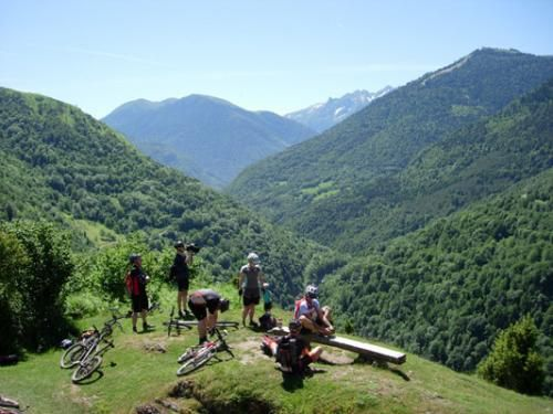 An off-road adventure in the Gers region of the Pyrenees.  It's one of France's less-explored cycling areas. There is an overview of the region here: http://www.freewheelingfrance.com/where-to-go/cycling-holidays-in-the-gers.html