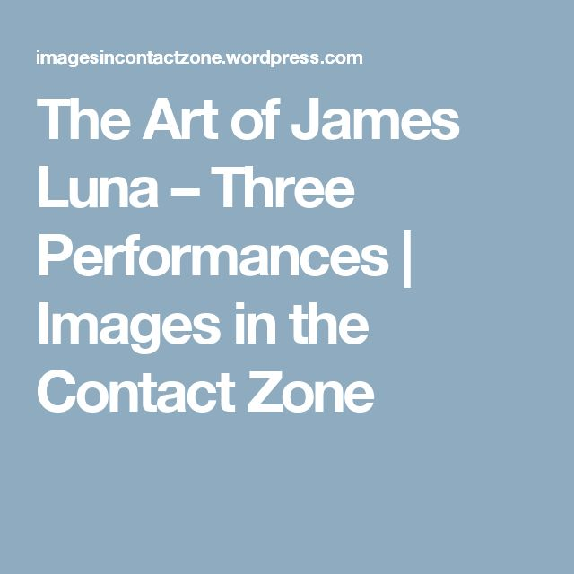 arts of the contact zone
