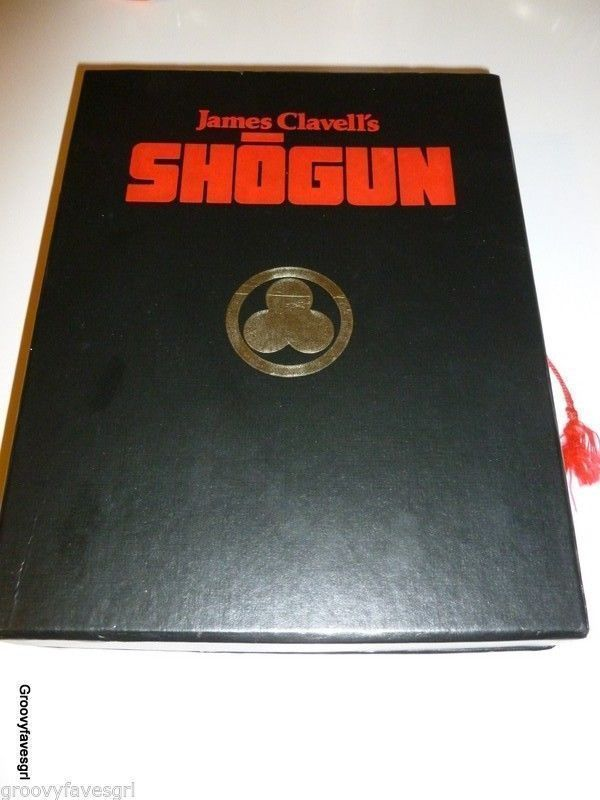 James Clavell's Shogun Richard ChamberlinThe Complete Movie 4 VHS Tapes Box Set