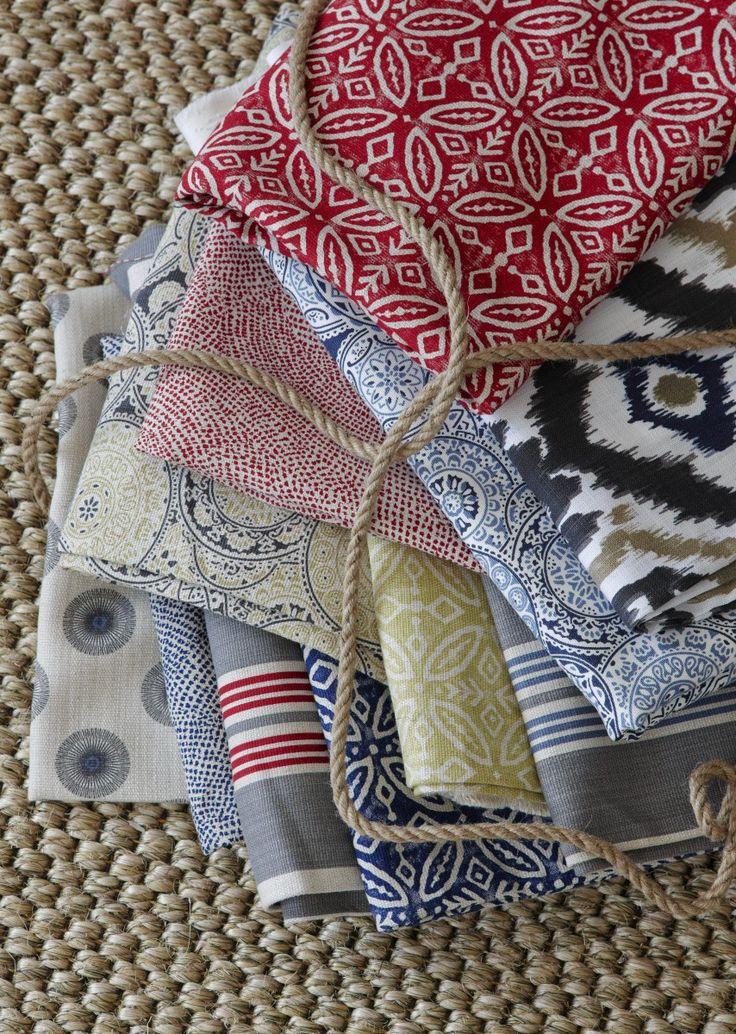 Hertex Fabrics tribal print fabrics aptly titled Mama Africa.