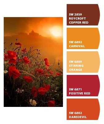 Paint colors from Chip It! by Sherwin-Williams  (Daredevil for kitchen wall with windows)