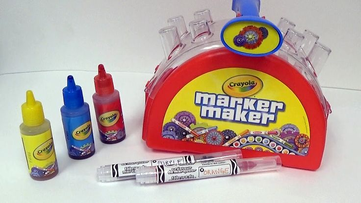 CRAYOLA MARKER MAKER! Create your own Crayola Markers at Home.
