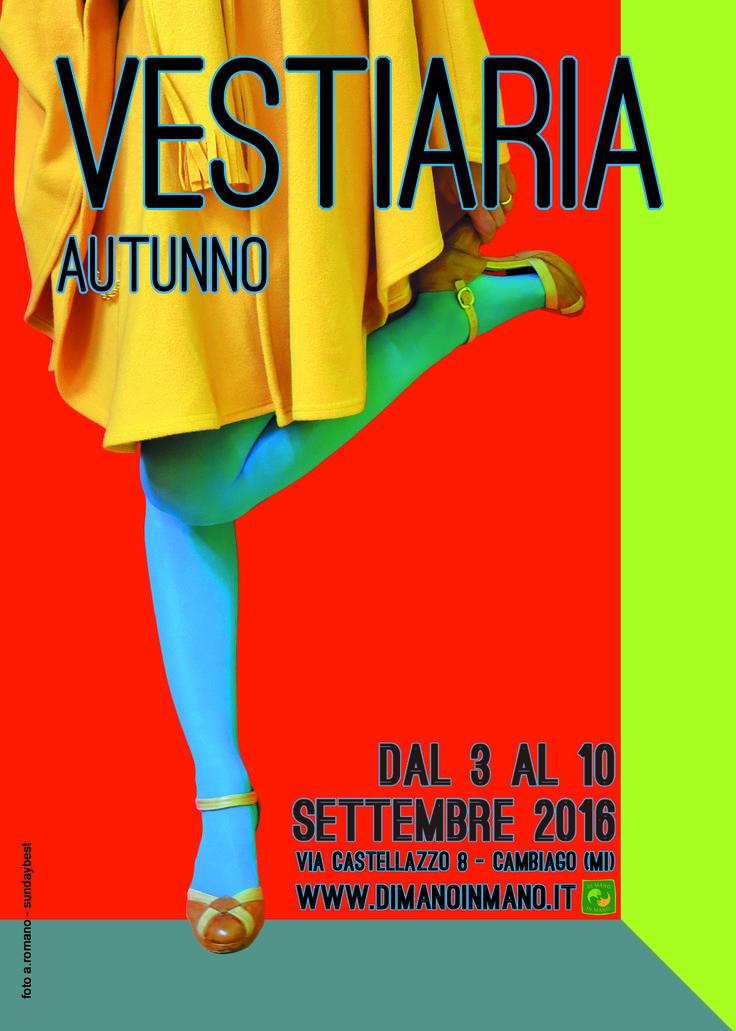 Vestiaria Autunno 2016 dal 3 al 10 Settembre moda nuova, usato & vintage presso il nostro negozio di Cambiago