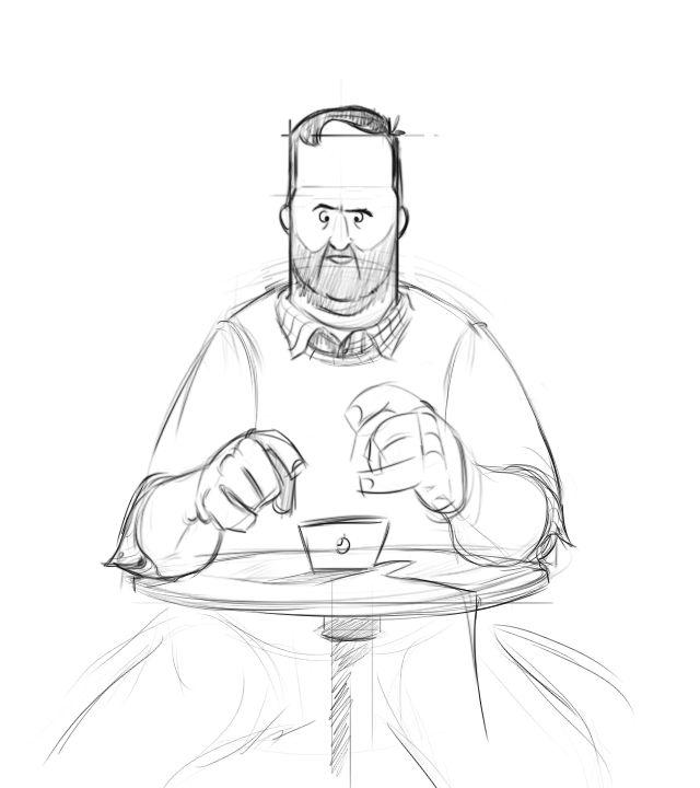 Character Design, sketching people, coffee   Eduardo Casian  eecasian.tumblr.com