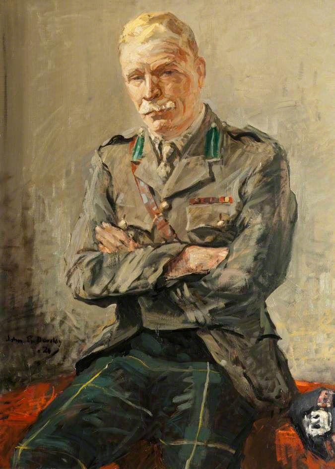 Lieutenant Colonel William Robertson, 1920, by John ...