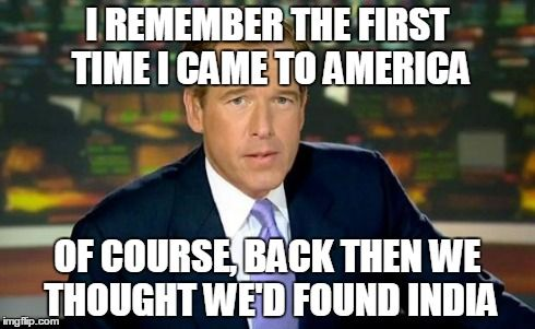 A Brian Williams Meme.