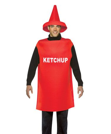 Look what I found on #zulily! Ketchup Costume Set - Adult #zulilyfinds