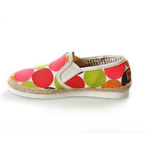 Classics Womens Dot University Rope Sole Toms Shoes. These are so cute!